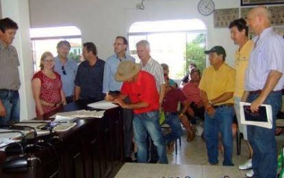 Agricultores Familiares da região Celeiro são beneficiados com recursos de R$ 200 mil