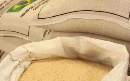 Preço do arroz se mantém estável no Rio Grande do Sul