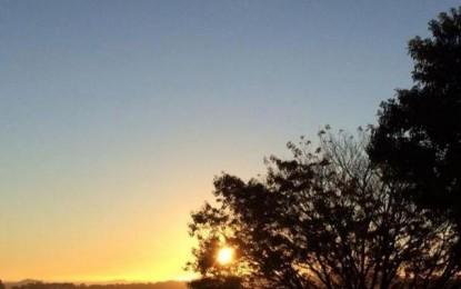 O sol predomina entre nuvens na maior parte do dia e não chove no RS