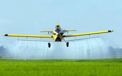 Aviação torna agricultura mais sustentável