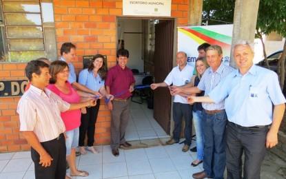 Emater/RS-Ascar reinaugura escritório em Pinheirinho do Vale