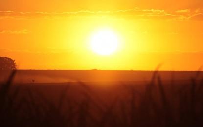 Sexta-feira começa com sol no Oeste e nebulosidade no Leste do RS