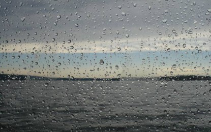 A atmosfera fica mais instável na terça-feira e a chuva se espalha pelo interior do Rio Grande do Sul e do Paraná.