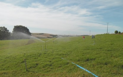 Tenente Portela coloca para funcionar projetos de irrigação financiados pelo Governo e agricultores
