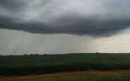 Previsão aponta retorno da chuva no estado para o próximo final de semana