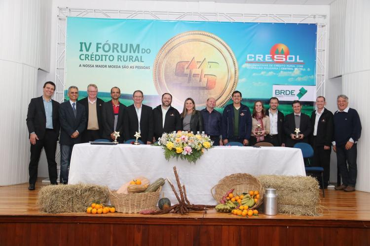 Fórum de Crédito Rural em Chapecó (SC)