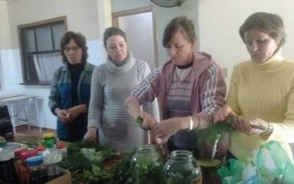 Humaitá, Emater realiza receita de olina com grupo de mulheres de Linha Pescador