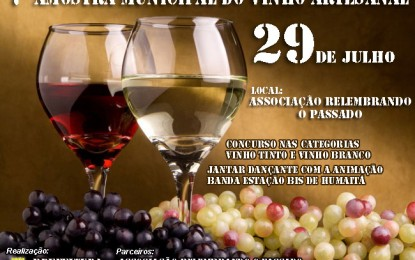 Chiapetta, 7ª Amostra Municipal do Vinho Artesanal