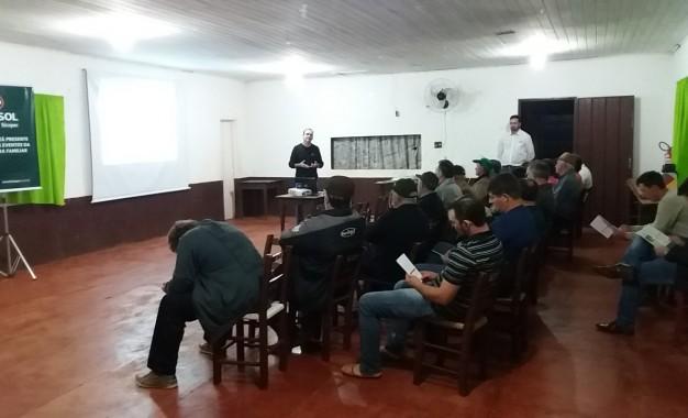 Cresol faz reunião com associados em São Valério do Sul