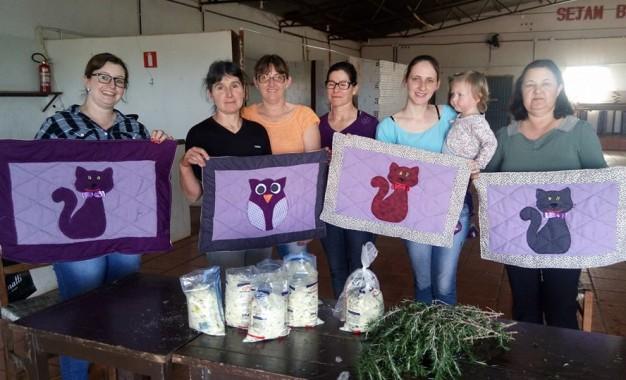 Sede Nova, encontro com o grupo de mulheres da comunidade de Coxilha Alta