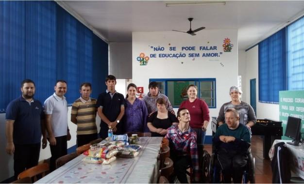Cresol de Humaitá realiza entrega de donativos à famílias e entidades do município