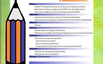 I Seminário Municipal de Educação do Campo vai ser realizado em Três Passos