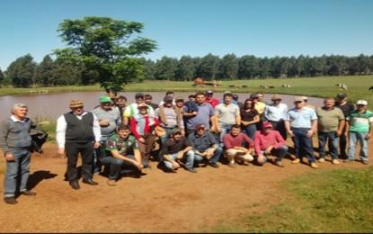Agricultores de Vista Gaúcha participaram de uma viagem para conhecer novas Experiências