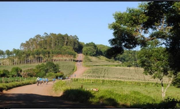 Vista Gaúcha 1º passeio ciclístico rural foi um sucesso
