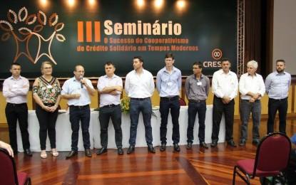 III Seminário O Sucesso do Cooperativismo de Crédito Solidário é finalizado com sucesso