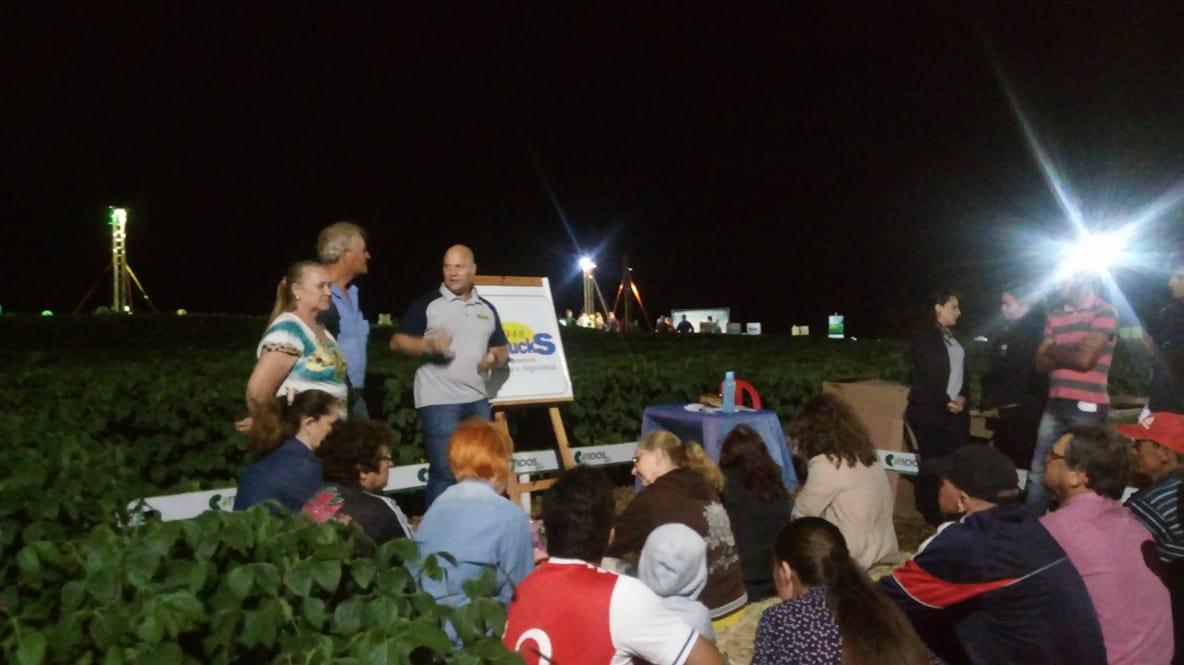 Empresa Braucks realizou a 1ª noite de Campo em Tenente Portela