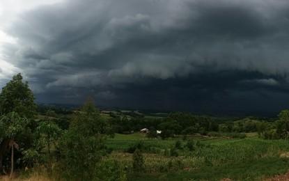 Previsão  de novo ciclone poderá chegar ao Sul e causar chuva, ventania e granizo