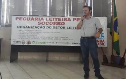 Municípios da Região Celeiro Debatem a Crise do Setor Leiteiro