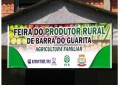 Produtores rurais de Barra do Guarita, mostrando seu potencial e sua diversidade