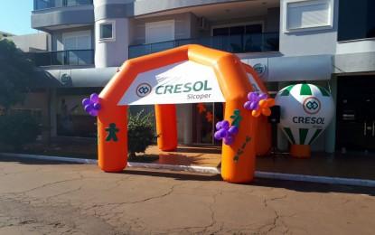 Cresol Humaitá oferece uma oportunidade aos associados