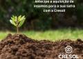 Cresol Oferece linhas de créditos que facilitam ao associado fazer bons negócios.