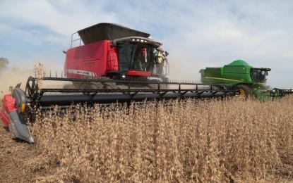 colheita da soja atinge 12,4% no Brasil