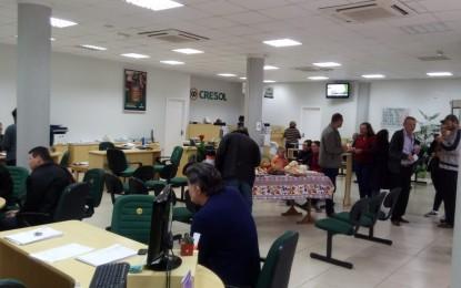 Cresol Humaitá realizou homenagem aos Colonos e Motoristas