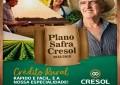 Linha de custeio e investimento na Cresol