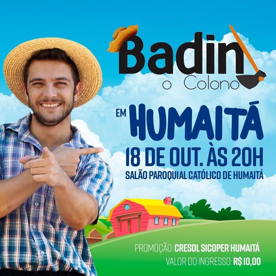 Badin, o colono em Humaitá