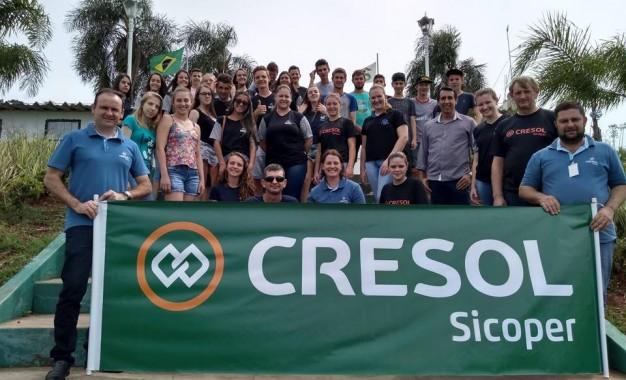 Cresol Humaitá faz visita a Orfanato Bom Pastor de Ivagaci