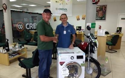 Cooperativas realizam 3º sorteio da Campanha Sonho de Prêmios Cresol