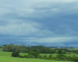 Chuva forte permanece no Estado do RS na próxima semana