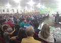 Associados da Cresol Humaitá Lotaram Salão Paroquial, Durante Assembleia da Cooperativa