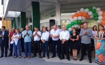 Reinauguração da unidade da Cresol em Tenente Portela