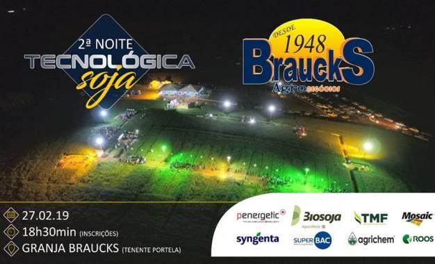 2ª Noite de Campo Empresa Braucks