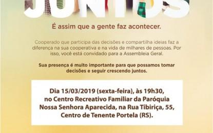 Cresol Tenente Portela realizara Assembleia geral 2019