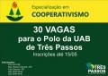 Especialização em Cooperativismo com inscrições abertas