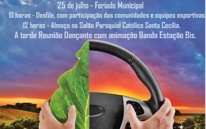 Festa do Colono e Motorista em Humaitá