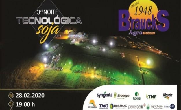 3ª Noite Tecnológica soja