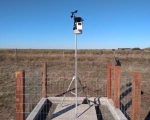 Instalação de estações meteorológicas na reta final no RS